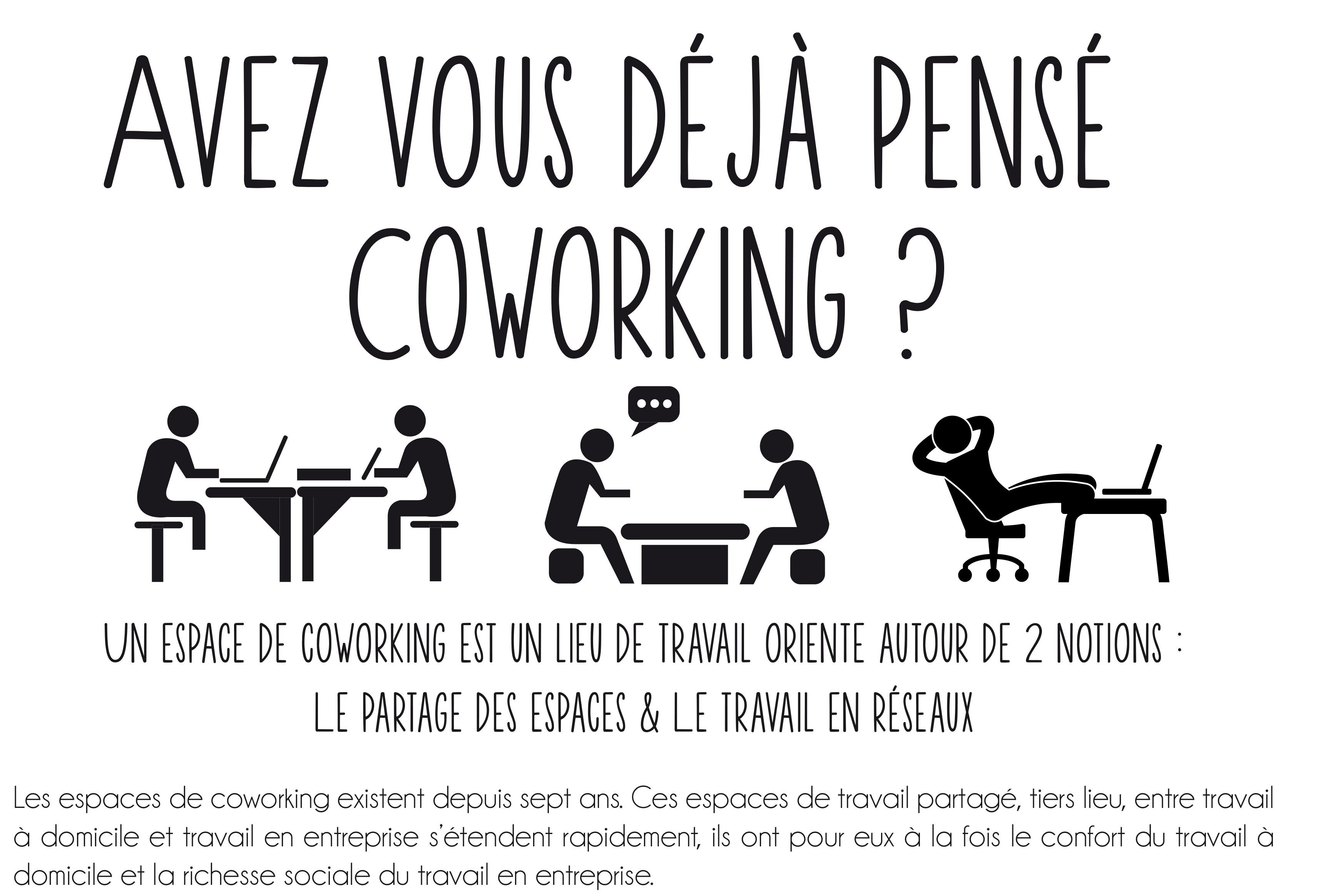 Un nouvel espace de coworking pessac for Espace minimum de travail